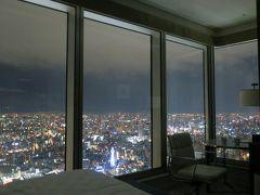大阪の街並を一望~大阪マリオット都ホテル コーナーツイン