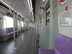 MRT地下鉄ブルーラインから高架パープルラインを試す