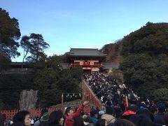 1月初旬週末の鶴岡八幡宮