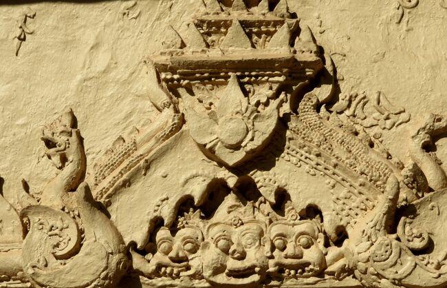 Laos メコンの宝石(7/20) ビエンチャンの寺院 ワット・インペン