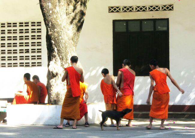 Laos メコンの宝石(5/20) ビエンチャンの寺院 ワット・ハーイソーク