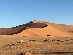 2017年末年始はアフリカ南部4ヶ国の旅(4)ナミブ砂漠ツアーその2