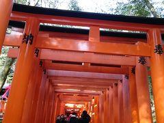 ぐーたらにゃんこの国内旅行記:京都!伏見稲荷