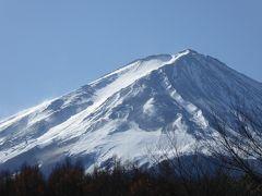 晩秋の伊豆/河口湖♪ Vol9(第3日) ☆河口湖:「レジーナリゾート富士」近くの煌めく朝の富士山♪