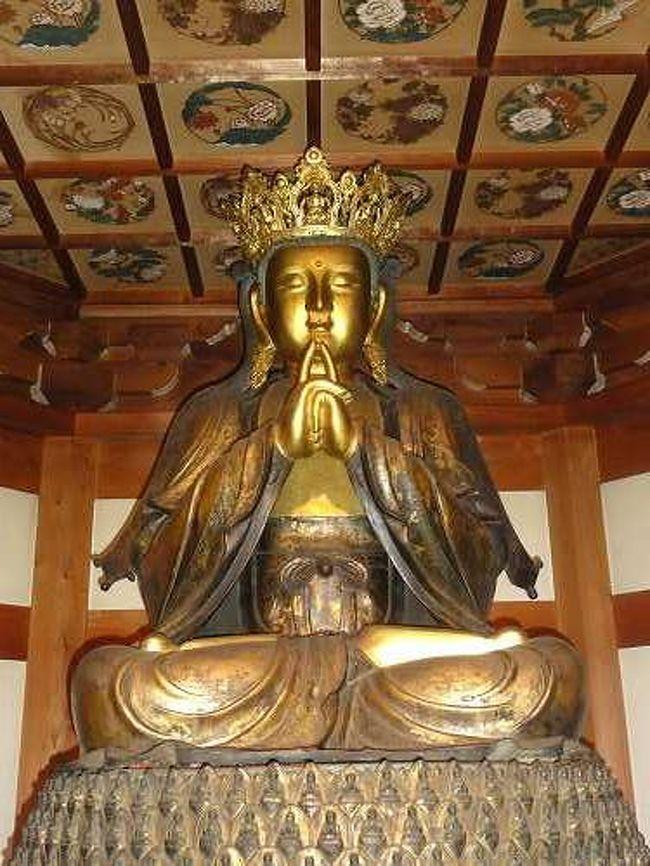 桃太郎神社の後は、岐阜県関にある善光寺というお寺へ。<br />このお寺には、五郎丸ポーズで有名になった仏様がおられます。