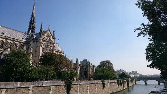 2016年の夏休み。<br />今年の海外旅行はどこに・・・と思っていたところにテレビでロワールの古城を特集している番組が。<br />そうそう、前回のフランスでTGV乗って、今度は鉄道旅行もいいな、と思っていたし、以前からアルプスの山々は見てみたかったし、今回はフランス鉄道旅行で決まり!<br /><br />ところが、いざプランニングをすると、なかなかTGVのチケットが取れずに四苦八苦。<br />だったらもう予約不要のTERでのんびりっていうのもありかな、と思い、日本の青春18きっぷの旅、ならぬフランスレイルパスの旅ってことにしました。<br /><br />日本だったらいくらでも・・・という旅でも、いざ海外となると、なかなかスリリングな旅となってしまい。<br />それでもなんとか無事に戻ってくることができて本当によかった。<br />ほとんどフランス語は話せないし、英語だってままなりませんが、それでもこれだけ出来る、っていう見本のような旅でした(笑)<br /><br />1日目 成田→(JL415)→シャルル・ド・ゴール→パリ<br />2日目 パリ→ブロワ城→アンボワーズ城→(トゥール)→シュノンソー城→ヌヴェール<br />3日目 ヌヴェール→リヨン→アヌシー→シャモニー<br />4日目 シャモニー(エギュイユ・デュ・ミディ)<br />5日目 シャモニー→アヌシー→ベルガルド→パリ<br />6日目 パリ(サント・シャペル、ノートルダム大聖堂)→シャルル・ド・ゴール→(AF1118)→フランクフルト→(JL408)→<br />7日目 成田<br /><br />いよいよ帰国、ちょっとだけパリ観光です。