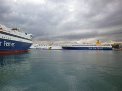 女一人旅-ギリシャ・アテネに戻ってピレウス港へ行ってみる-