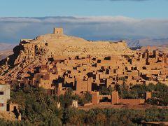激走2400km  悠久のモロッコ 8日間の旅  トドラ渓谷と世界遺産のカスバ・アイト・ベン・ハッドゥの絶景篇