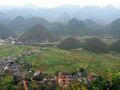 ベトナム北部の旅05 ハザン : クアンバのかわいいおっぱい山に行く