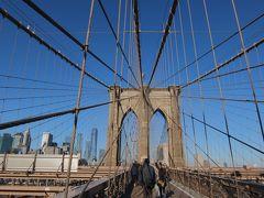 マンハッタンとブルックリンに泊まるホリデーシーズンのニューヨーク3日目<ブルックリンブリッジ~自由の女神~9/11Memorial>