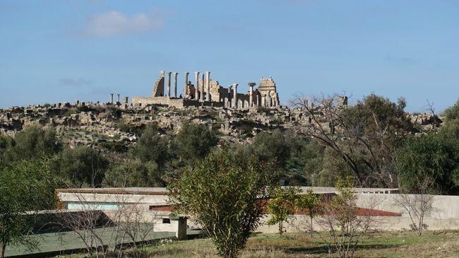 2018年のお正月はモロッコへ。<br /><br />その3は、ローマ帝国の南西端といってもよい、ヴォルビリス遺跡。紀元前から町があったそうです。最盛期には2万人も住んでいたのだとか。まだすべては発掘されていないそう。<br /><br />・オリーブと麦のふんだんな土地、ヴォルビリス<br />・オルフェイスの家、キャピトル、バシリカ、デザルターの家、ギリシャ青年の家など<br />・付属の博物館<br /><br />表紙写真は、ヴォルビリス遺跡遠景。