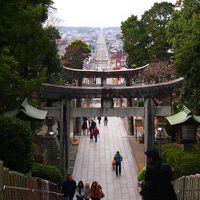 宮地嶽神社へ行ってきました 「光の道」海へと続く真っすぐな参道