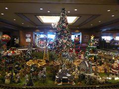クリスマスの椿山荘♪ Vol1:クリスマスのプレゼピオと紅葉の庭園♪