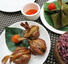 Laos メコンの宝石(8/20) 世界遺産ルアンパバンのホテルとレストラン