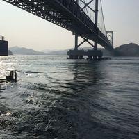 明石海峡大橋と道の駅うずしおで展望台から渦潮を見てみよう
