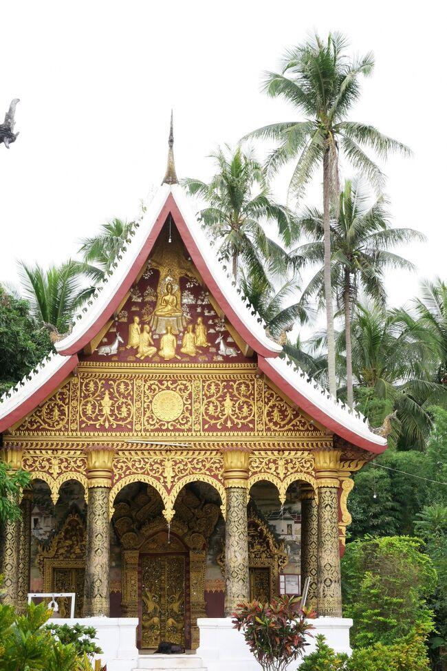 Laos メコンの宝石(16/20) 世界遺産ルアンパバンの国立博物館と寺院 ワット・ビスンナラートとワット・パパイミサイヤラム