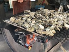 牡蠣小屋でプリップリの牡蠣を食す幸せ♪