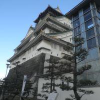 〆は大阪。大阪城と初伊丹。