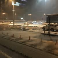 大雪の北陸に出張しました。ヒヤヒヤです。