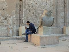 Day 5-1 アフリカ大陸初上陸~テロにも負けず、エジプトへ★(´∀`)~(ホルス神殿)