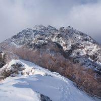 積雪期甲斐駒ケ岳黒戸尾根 / 悶絶の初、冬テント泊