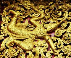 Laos メコンの宝石(19/20) 世界遺産ルアンパバンの寺院 ワット・ノン・シコウンムアン