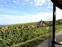 2017 秋の欧州7か国の旅(17) 「やむなく」・「待望」のプチトランに乗ってリボヴィレ・ウナヴィール観光