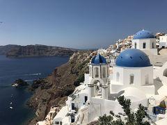 ギリシャでハネムーン~アテネ・クレタ・サントリーニ~ Day7  イアの本屋さん、青いドームとアムーディベイ