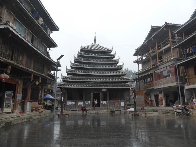 3歳娘を連れて貴州省・広西チワン族自治区7日間の旅4-どこそれ?な三江トン族自治県で年越し