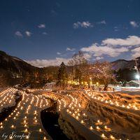 今年も平家落人伝説の湯西川温泉で雪見風呂三昧