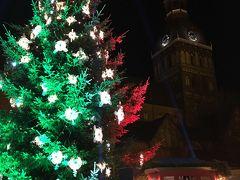 バルト三国 (4) 今度はリガの旧市街地の夜景