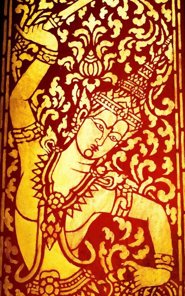 Laos メコンの宝石(18/20) 世界遺産ルアンパバンの寺院 ワット・セーンスッカラム