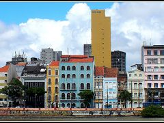 レシフェ(ヘシフェ)の街並み、マルコ・ゼロからトコトコと、目的なしで、ただ..ただ歩く編..1..(レシフェ/ペルナンブコ州/ブラジル)