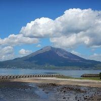 鹿児島:桜島〜枕崎〜市内から長島海峡を渡る(鹿熊3泊4日900km)