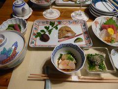 冬の軽井沢♪ Vol.7(第2日):軽井沢プリンスホテルのドッグコテージ 夕食は日本料理♪