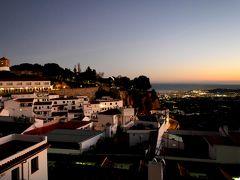 2017.12アンダルシアドライブ旅行26-Mijasへ,La Posada de Mijasのすばらしい絶景