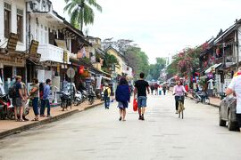Laos メコンの宝石(10/20) 世界遺産ルアンパバンのまちあるき