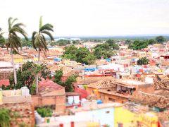 キューバ(7)鳥瞰カラフル旧市街/トリニダー