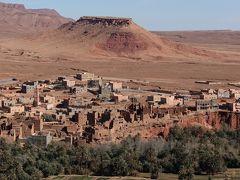 2018新春モロッコ その9~土壁の要塞、峡谷、そして映画の街ワルザザート