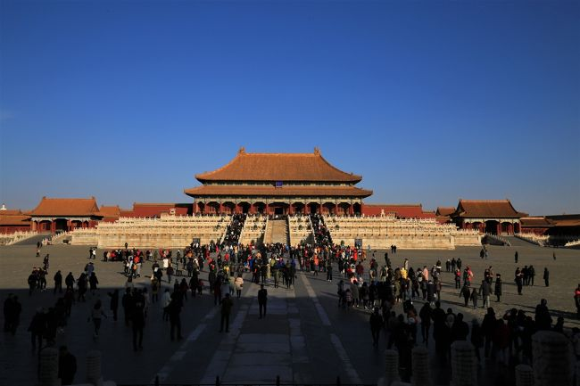 2017年12月~2018年1月 今年のお正月は北京に行って来ました!(5)故宮博物院/紫禁城編