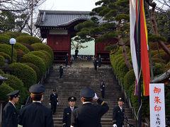 護国寺の節分会