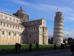 イタリア 冬の旅 8日目 (ドライブ:ピサ、アウトレット)