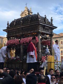 17年春節☆シチリア島とマルタ・ゴゾの旅~08 聖アガタ祭でにぎわうカターニアの街