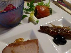 冬の軽井沢♪ Vol.13(第3日):軽井沢プリンスホテルのドッグコテージ 夕食は中華料理と花火♪