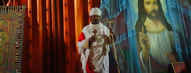 エチオピア12日間 �ラリベラ、世界遺産...