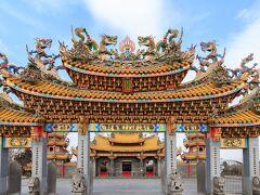 都会の中にある異国を体験しに??五千頭の龍が昇る聖天宮?