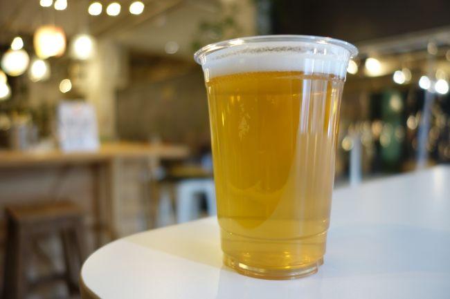横浜まで行きましたので、帰りに新作のビールをいただきに。