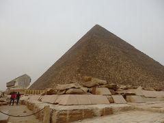 Day 7-1 アフリカ大陸初上陸~テロにも負けず、エジプトへ★(´∀`)~(ギザ地区)