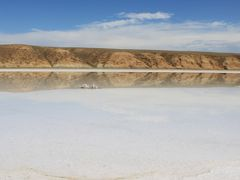 カザフスタン西部 アティラウ州の真珠 インデル塩湖 その1