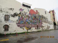 特典航空券でマレーシアへの旅(12) ぶらりジョージタウン! 再びストリートアートを探して雨の街中へ・・・